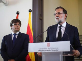 Catalonië: Carles Puigdemont en Mariano Rajoy