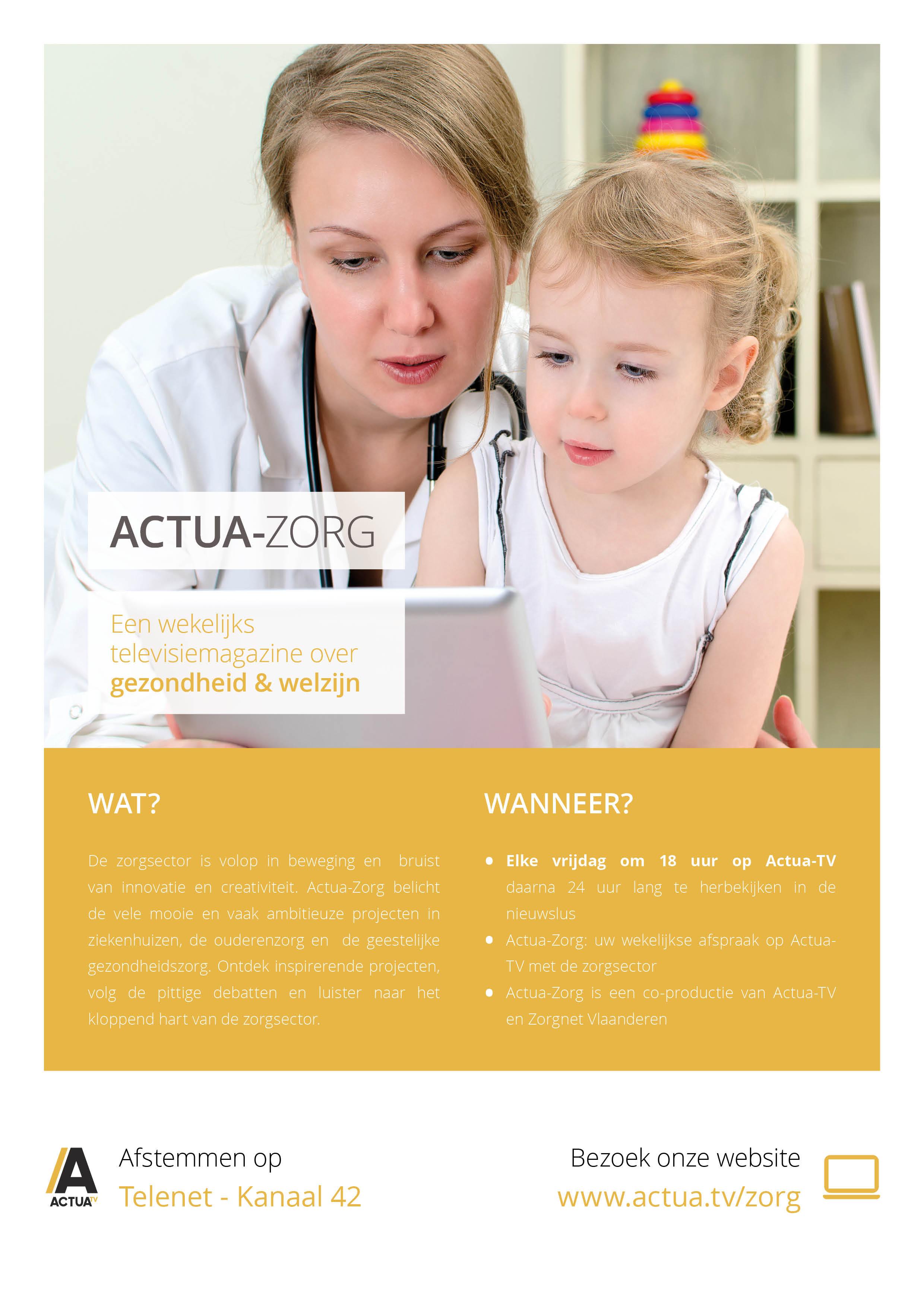 Actua-Zorg: Programmafiche