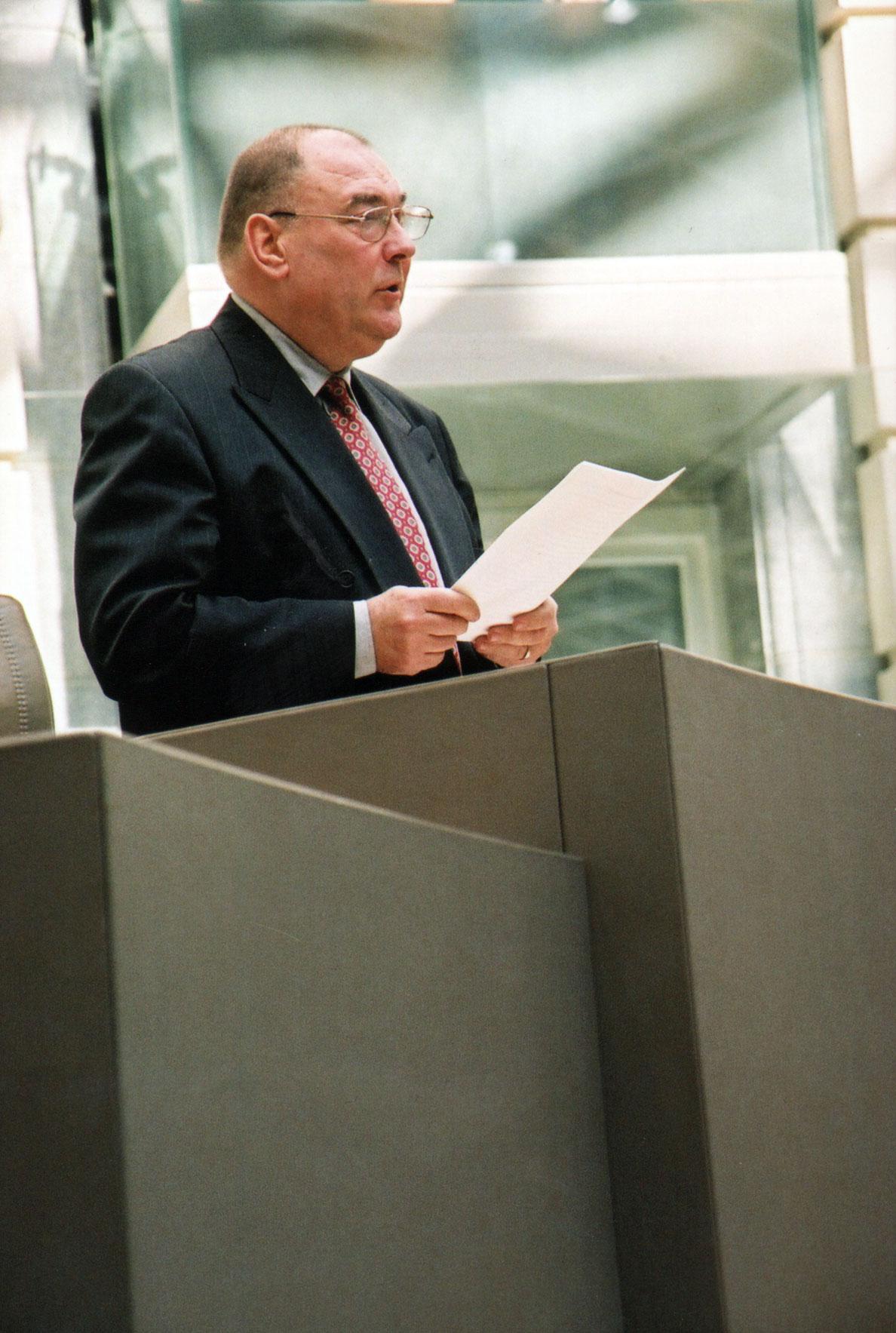 Huldezitting Paul Van Grembergen, 31 maart 2004