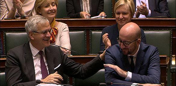 Regeringsverklaring 2016 Charles Michel