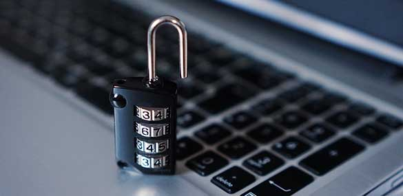 Beveiliging internetdata