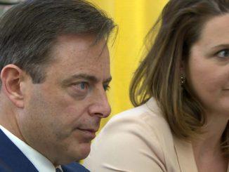 Partijvoorzitters De Wever en Rutten