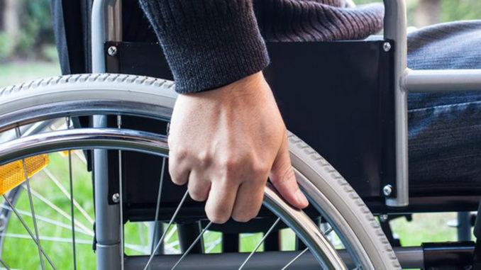 Studenten met handicap