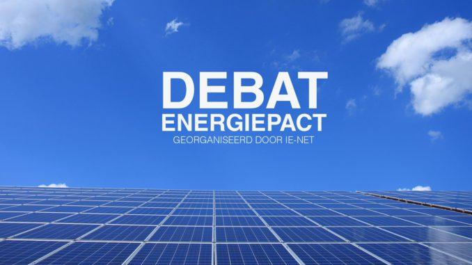 Debat Energiepact